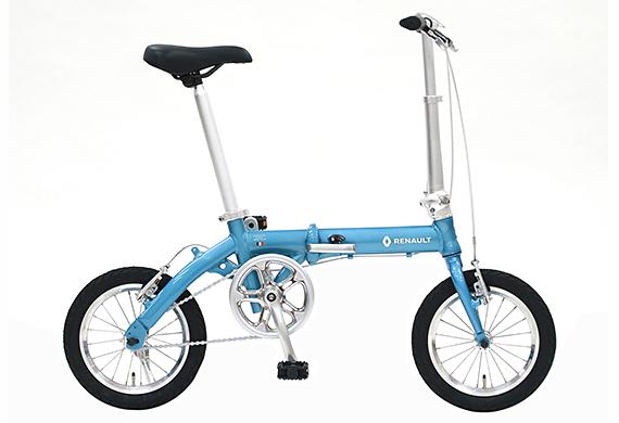 2018年モデル 自転車 ルノー RENAULT 自転車 折りたたみ自転車 ラグーンブルー 14インチ 軽量 ギアなし 折りたたみ自転車 ルノー LIGHT8 AL-FDB140 ライトエイト アルミニウム 変速付き おしゃれ