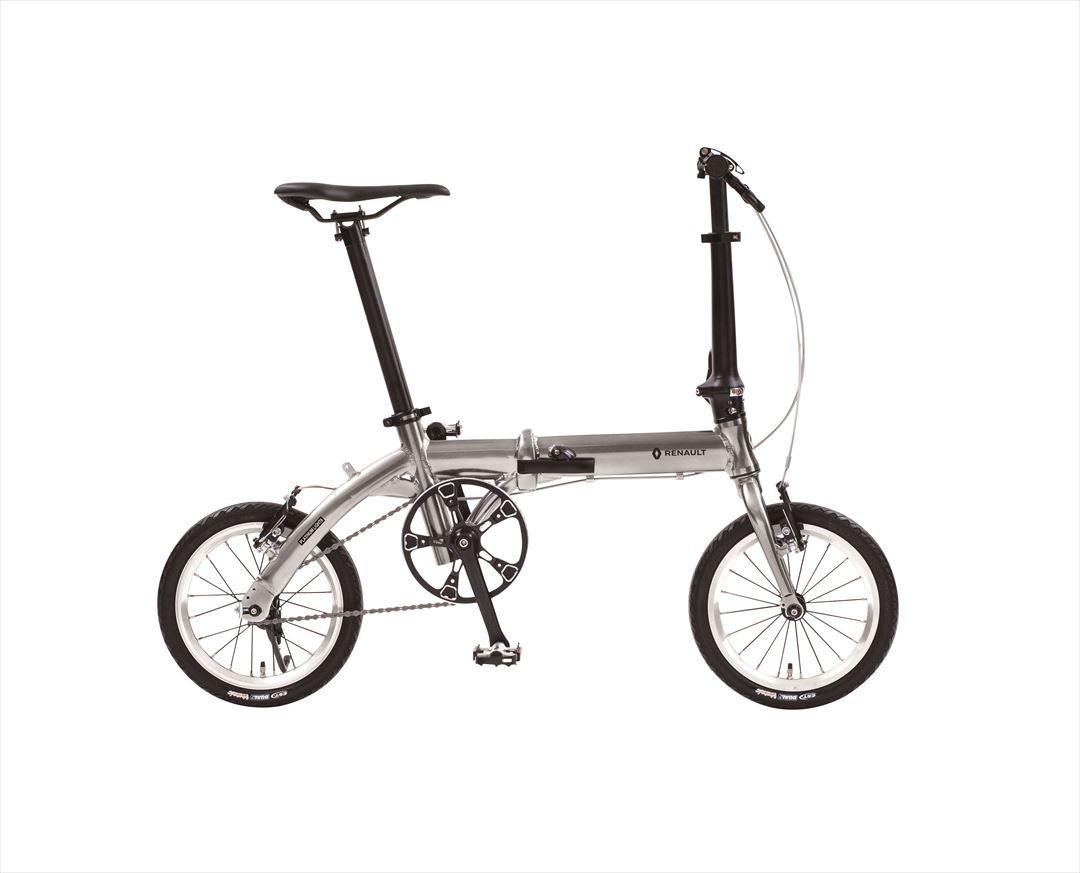 配送先一都三県一部地域限定送料無料 2018年モデル 自転車 ルノー(RENAULT)自転車 折りたたみ自転車 PLATINUM LIGHT6(AL-FDB140) 14インチ 軽量 ギアなし 折りたたみ自転車 ルノー PLATINUM LIGHT6(AL-FDB140)(ライトシックス)
