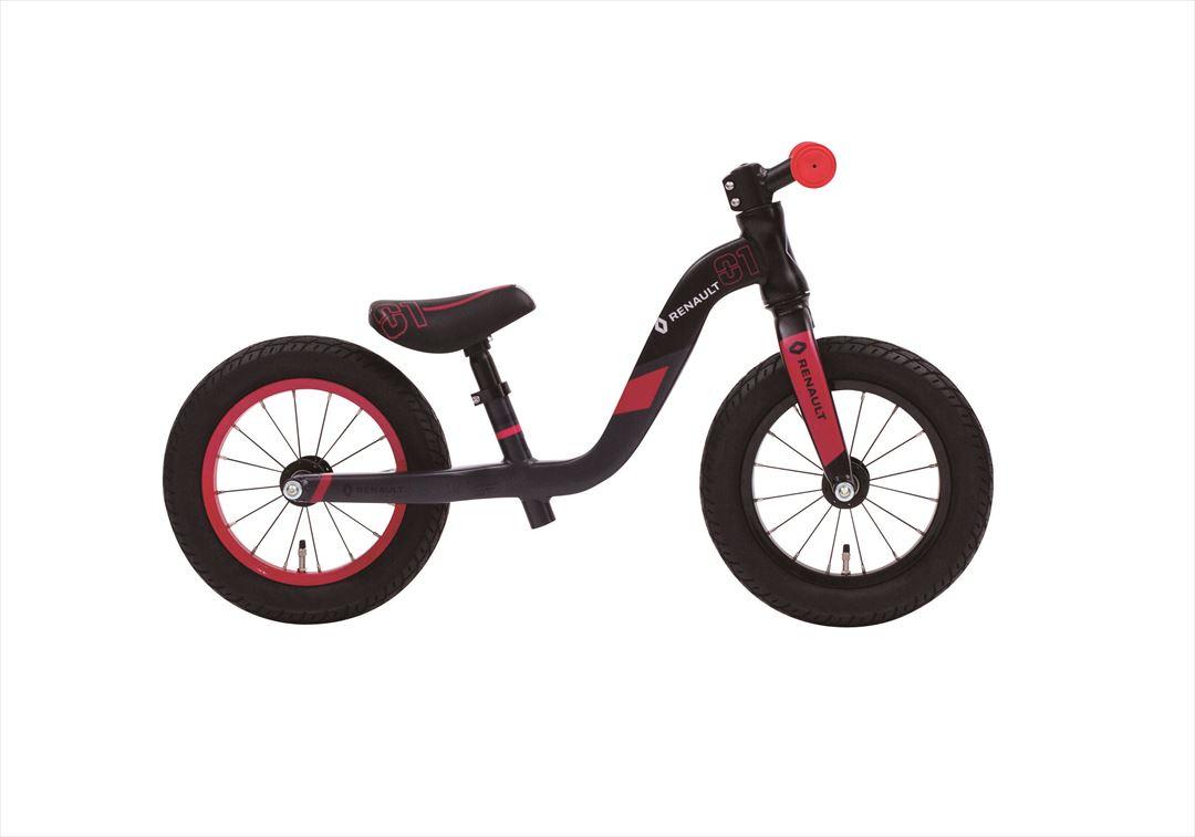 配送先一都三県一部地域限定送料無料 ルノーウルトラライト トレーニングバイク トレーニー 2.5~5歳 RENAULT ULTRA LIGHT TRAINEE 自転車 子供用 ブラック 黒 12インチ キックバイクキッズ 自転車 ジュニア 通販 おしゃれ