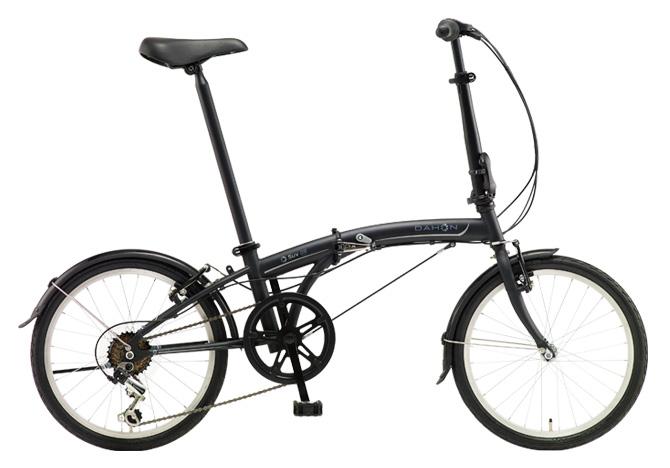 折りたたみ自転車 DAHON SUV D6 ダホン 自転車 20インチ 折りたたみ自転車 外装6段変速ギアダホン 折りたたみ自転車 DAHON エスユーヴィー D6 18DAHON 18DAHON SUV Matt Black ブラック おしゃれ