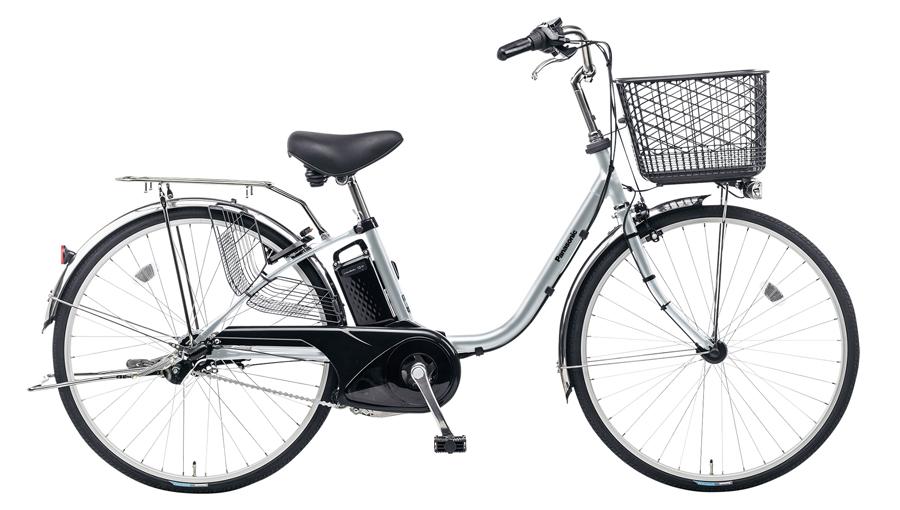 電動自転車 パナソニック Panasonic ビビ・FX KE-ELF43 S 24インチ モダンシルバー シルバー 電動アシスト自転車 おしゃれ