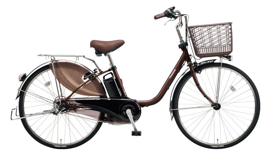 配送先一都三県一部地域限定送料無料 電動自転車 パナソニック Panasonic ビビ・DX 26インチ 電動アシスト自転車 2018年モデル BE-ELD634T チョコブラウン おしゃれ