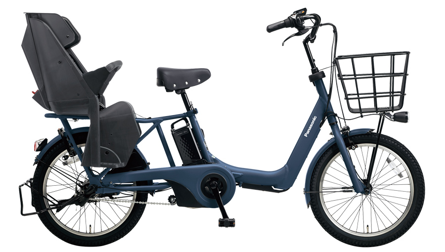配送先一都三県一部地域限定 電動自転車 パナソニック Panasonic ギュット・アニーズDX 20インチ 電動アシスト自転車 2018年モデル BE-ELA03V マットネイビー 紺 激安 安い おしゃれ
