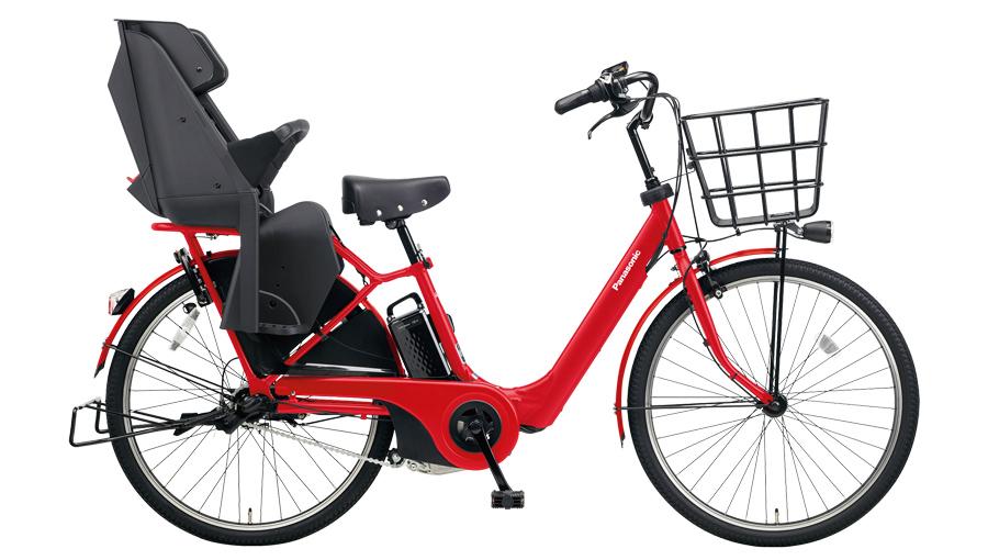 配送先一都三県一部地域限定 電動自転車 パナソニック Panasonic ギュット・アニーズ・F・DX 26インチ 電動アシスト自転車 2018年モデル BE-ELA63R ロイヤルレッド 赤 激安 安い おしゃれ