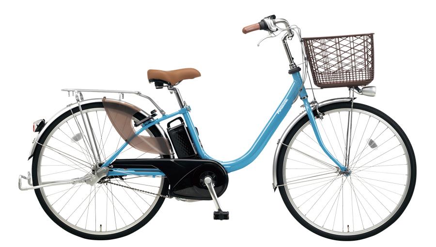 配送先一都三県一部地域限定 電動自転車 パナソニック Panasonic ビビ LU 24インチ 電動アシスト自転車 2018年モデル 激安 格安 BE-ELLU432V2 ターコイズブルー 安い おしゃれ