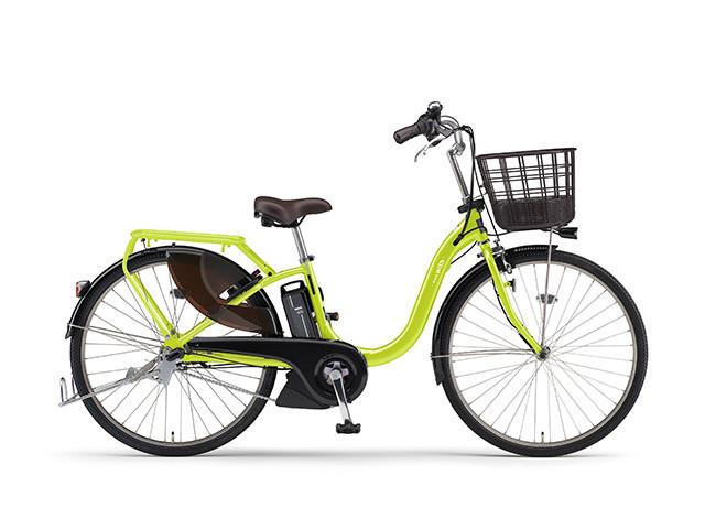 電動自転車 ヤマハ YAMAHA PAS With パス 26インチ 電動アシスト自転車 格安 激安 電動ママチャリ 2018年モデル 送料無料 軽量 X0U401-010F ライムグリーン 緑 シティサイクル 安い おしゃれ