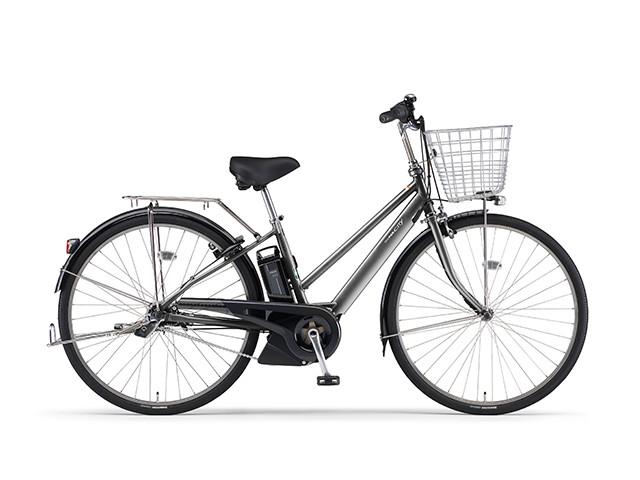 2018年モデル 電動自転車 ヤマハ YAMAHA パス シティ エスピーファイブ PAS CITY-SP5 27インチ 電動アシスト自転車 格安 激安 電動ママチャリ 送料無料 X1N501-010A メタル2 シルバー シティサイクル 安い おしゃれ