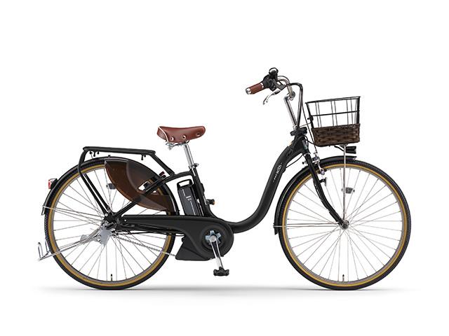 電動自転車 ヤマハ YAMAHA PAS 18 WithDX26 パス 26インチ 電動アシスト自転車 電動ママチャリ 2018年モデル 軽量 マットブラック2 X0U601-010C シティサイクル おしゃれ