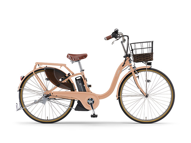 電動自転車 ヤマハ YAMAHA PAS 18 WithDX26 パス 26インチ 電動アシスト自転車 格安 激安 電動ママチャリ 2018年モデル 送料無料 軽量 X0U601-010E コーラルピンク シティサイクル 安い おしゃれ