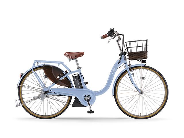 配送先一都三県一部地域限定 電動自転車 ヤマハ YAMAHA PAS 18 WithDX24 パス 24インチ 電動アシスト自転車 格安 激安 電動ママチャリ 2018年モデル 軽量 X0U701-010B グレイッシュブルー シティサイクル 安い おしゃれ