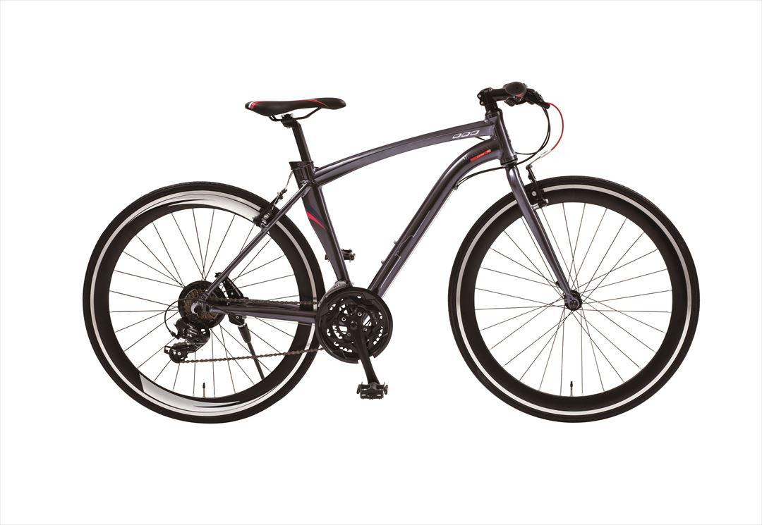 2018年モデル 送料無料 MASERATI AL-CRB7021 自転車 グレー クロスバイク 激安 安い おしゃれ
