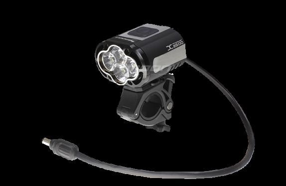 moon(ムーン) X-POWER2500 LEDフロントライト 2500ルーメン 自転車ライト
