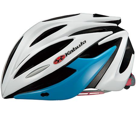 OGK KABUTO(オージーケーカブト) ALFE アルフェ ヘルメット  ホワイトブルー 自転車