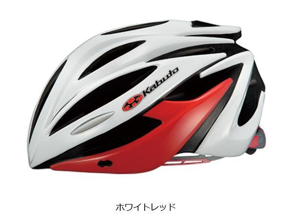 OGK KABUTO(オージーケーカブト) ALFE アルフェ ヘルメット  ホワイトレッド 自転車