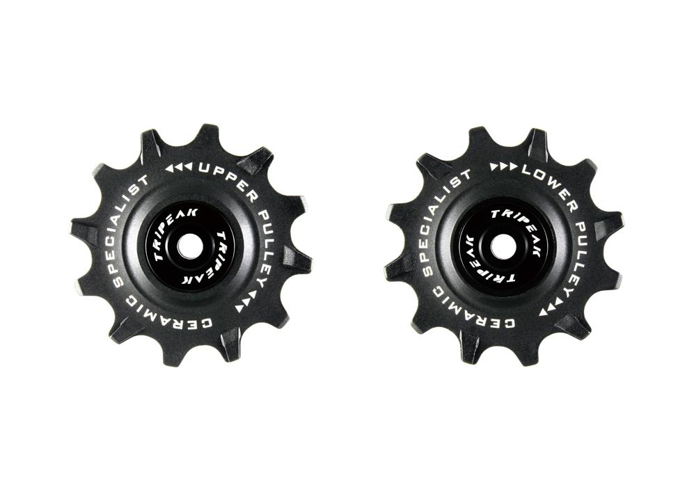 TRiPEAK トライピーク Ceramic bearing PULLEY プーリー シマノロード用12T/12T 自転車