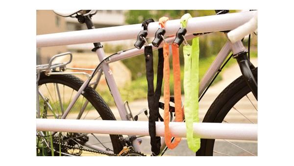 自転車鍵☆Kuhaku☆ロック樫 kuhaku 樫 頑丈 与え 自転車 ディンプルキーロック お買い得品 鍵