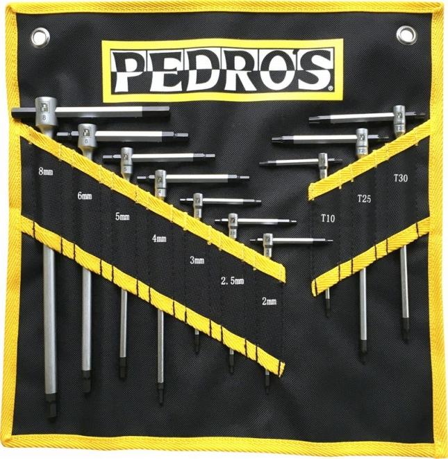 PEDROS ペドロス Tハンドル ヘキサレンチ マスターセット 115206 工具 自転車