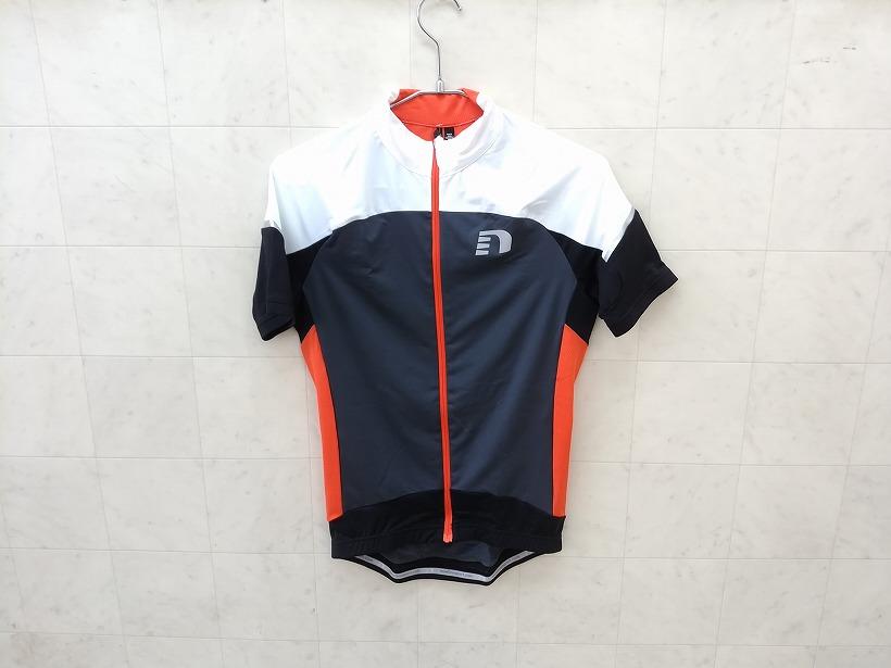 トップス 半袖ジャージ new line 半袖フルジップジャージ bike stretch jersey Sサイズ - 中古
