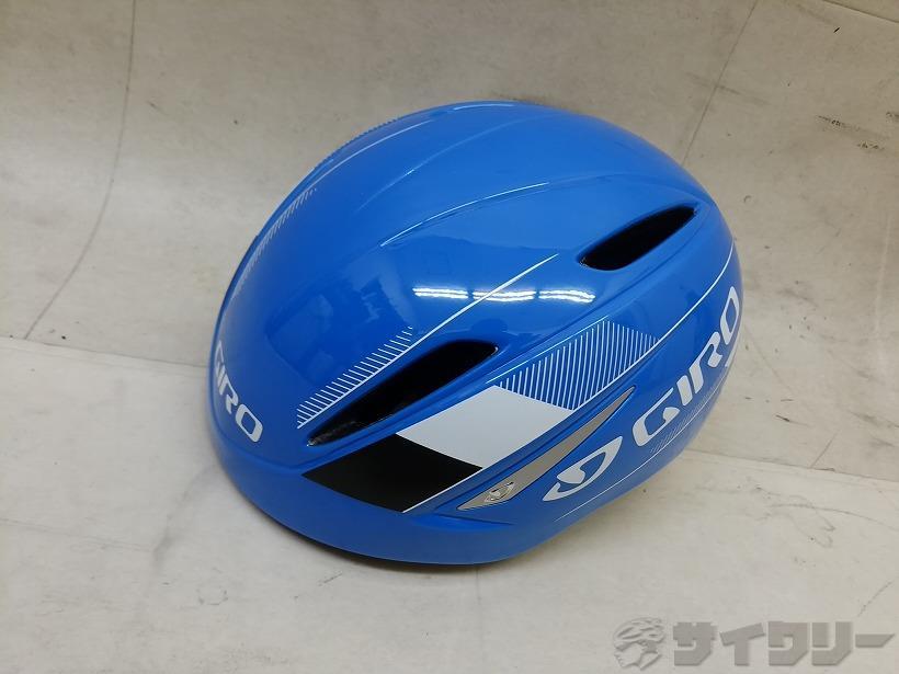 ヘルメット ジロ ヘルメット AIR-ATTACK 51-55cm ブルー - 中古