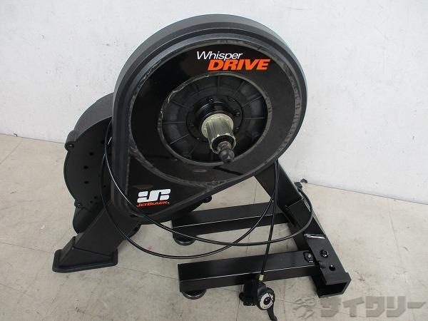 トレーナー/ローラー台 トレーナー/ローラー台 ジェットブラック ダイレクトドライブトレーナー Whisper Drive - 中古