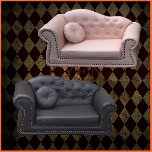 【入荷しました!】輸入家具:子供家具:プリンセス:2人掛け:2色