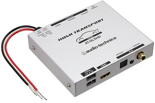 ペイ  < オーディオテクニカ AT-DL5HD HDMIトランスポート iPhone/iPad, iPod touchや Android機器の音声を 高品位デジタル出力可能な HDMIトランスポート。 audio-technica