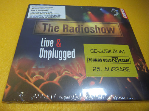 ☆ CD: THE RADIOSHOW Live and Unplugged Audio 's Audiophile N0.25 ZOUNDS GOLD 24 KARAT 골드 디스크 Zounds Music CD ゾウンズ Made in Germany
