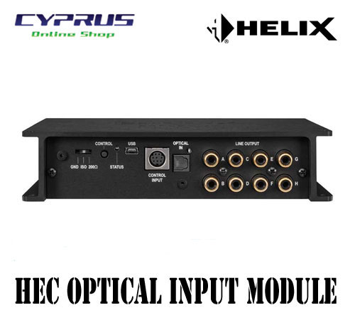 ヘリックス HELIX  HEC OPTICAL IN for HELIX DSP.2 HELIX DSP.2用HECモジュール 光デジタル入力用 専用サイドパネル