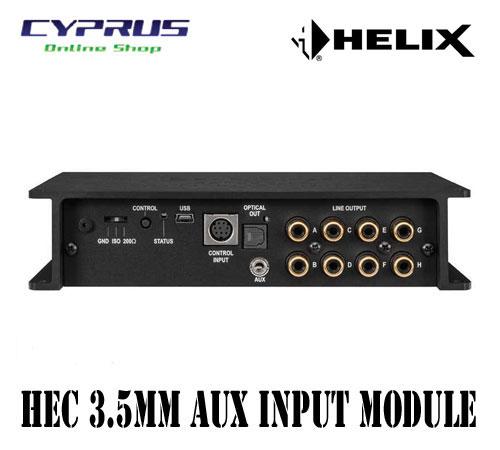 SALE 送料込み正規輸入品 ヘリックス HELIX HEC AUX IN for 専用サイドパネル 爆売り P-SIX MK2P-SIX DSP AUX入力光デジタル出力 3.5mmステレオミニジャックモジュール MK2用HECモジュール