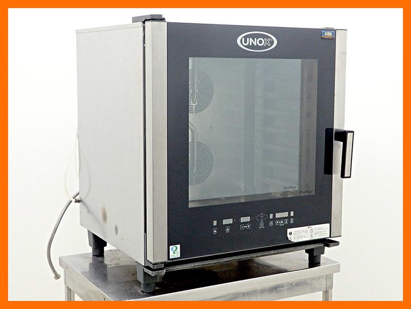 D1359【税込】2013年製 FMI/ウノックス 電気式スチームコンベクションオーブン XV-505E/128万【中古】