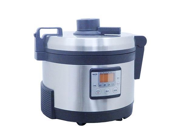 D1323 2016年製 サンヨー 業務用圧力IHジャー炊飯器 おどり炊きPRO ECG-PG60/3升【中古】
