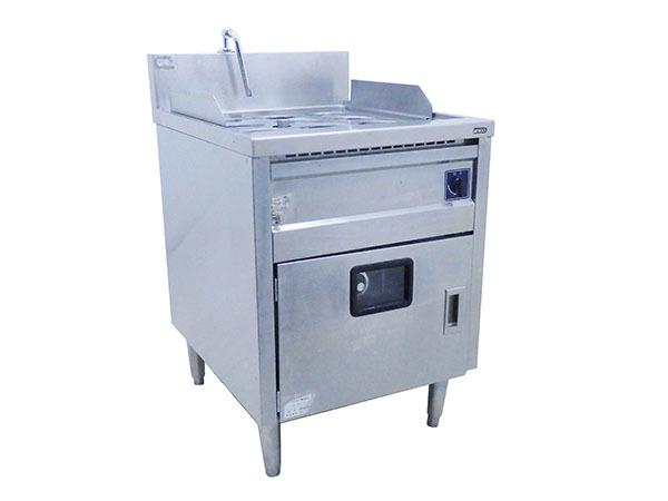 D1345 2011年製 タニコー 電気ゆで麺器 デラックスタイプ/デジタル温度調節器仕様 TEU-62A/1槽式9フリザル【中古】
