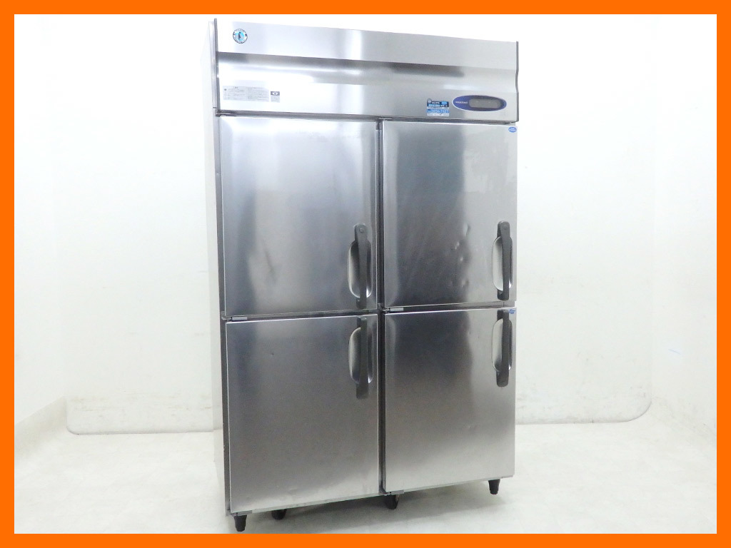 D1414 2012年製 ホシザキ タテ型冷凍冷蔵庫 HRF-120LZFT(冷蔵392L/冷凍392L)【中古】