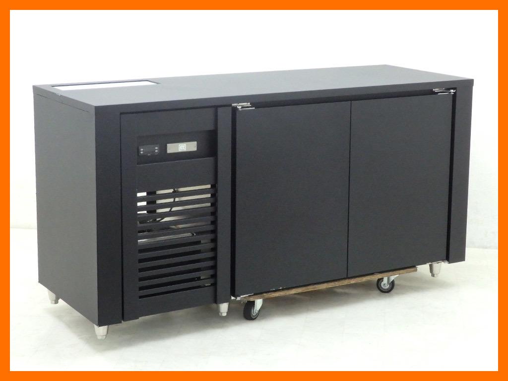 D1442 2016年製 アリガ コールドテーブル冷蔵庫/幅1660×奥行600×高さ850mm【中古】