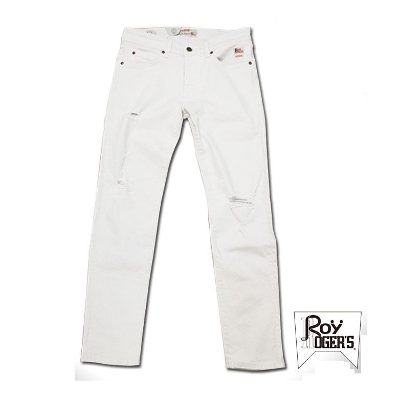【Roy Roger's】 ホワイトデニム デニム メンズ ホワイト 白 ズボン ロイロジャース デニム メンズ パンツ ジーパン ジーンズ デニムパンツ ボトム 春 春物 春服 おしゃれ かっこいい アメカジ ブランド 大きいサイズ