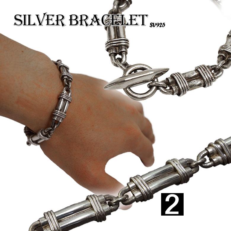 激安!シルバーブレスレット バングル シルバー925 silver
