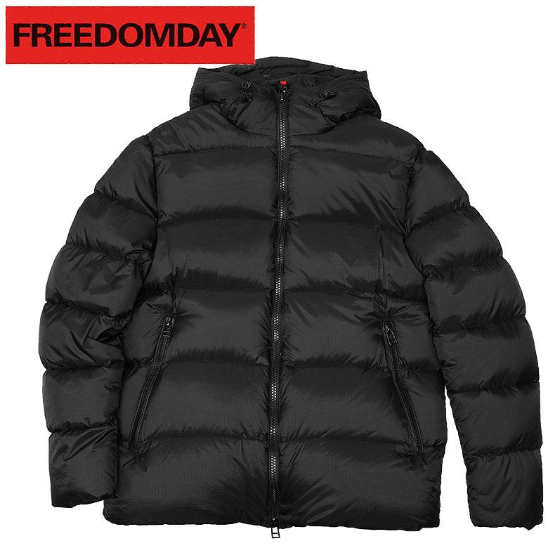 【FREEDOMDAY】フリーダムデイ ダウンジャケット フォトグラフィック 都会的 HAMILTON