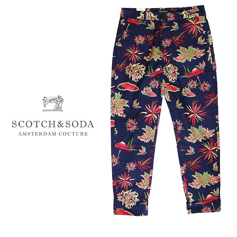 【SCOTCH&SODA】スコッチアンドソーダ Corduroy 5-Pocket Pants コーデュロイ ストレッチ パンツ ステッチ
