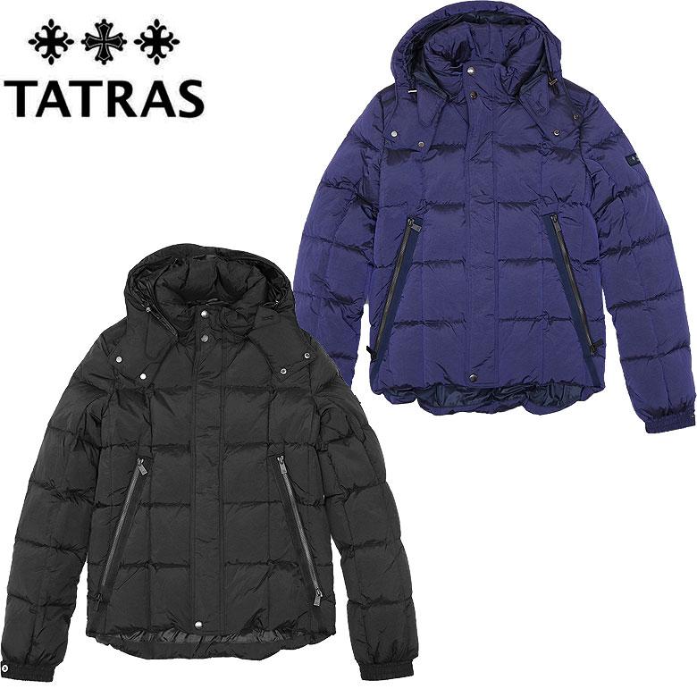 【TATRAS】タトラス BOESIO ダウンジャケット アウター メンズ マット スタイリッシュ ブロックキルト 定番 高級感 短め丈