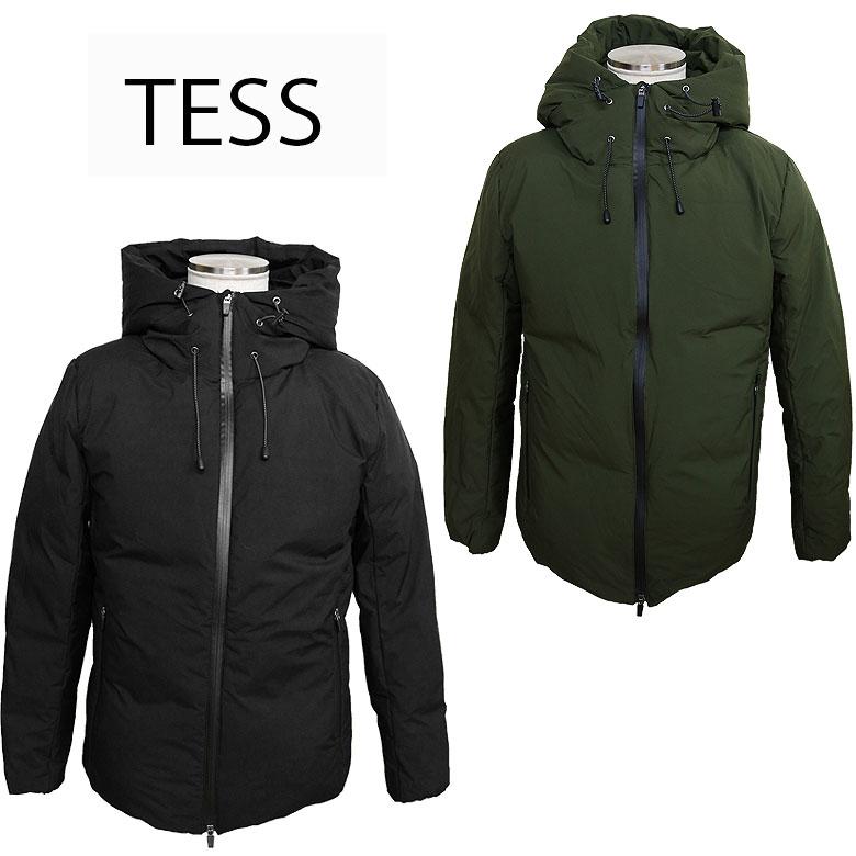 【TESS】テス 中綿シームテープパーカージャケット アウター 中綿ジャケット シームテープ 保温性 都会的