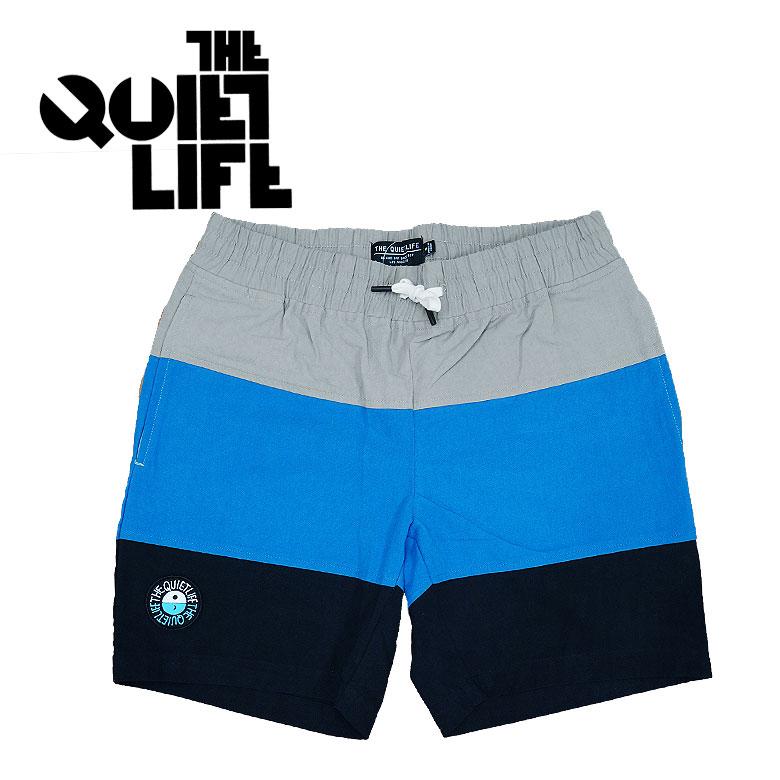 【THE QUIET LIFE】ザクワイエットライフ Solar Beach Short ショーツ ショーパン ハーフパンツ 切り返し メンズ カジュアル ワッペン