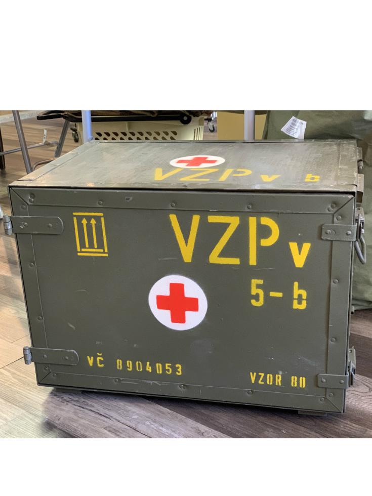 チェコ軍 メディカルボックス USED