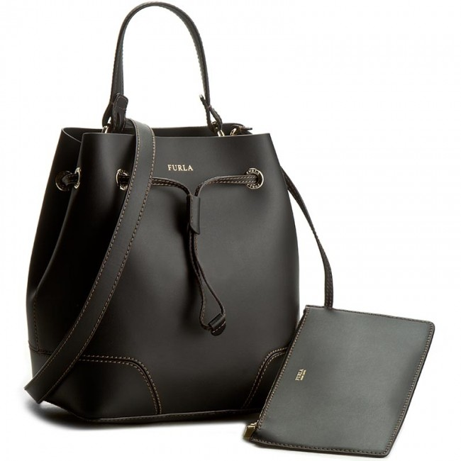 b8d222a17f23 フルラ ショルダーバッグ FURLA STACY S DRAWSTRING O60-ONYX 864338 PS17