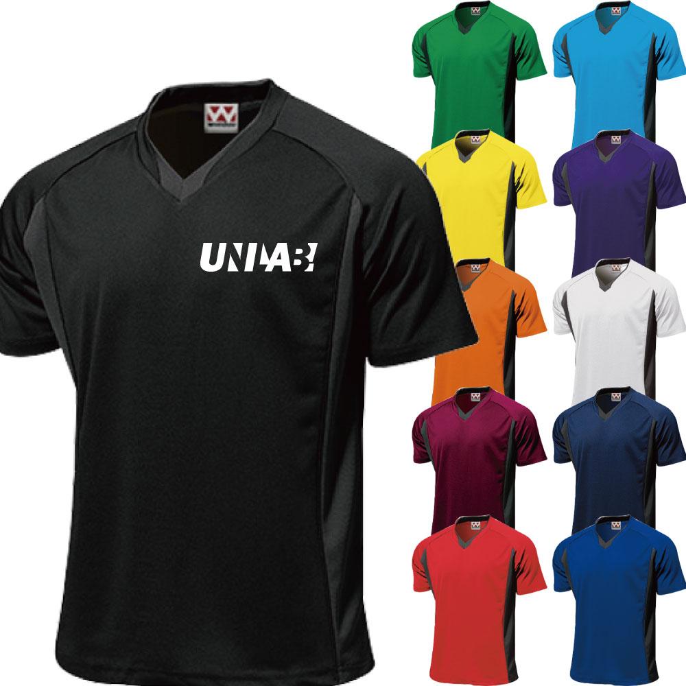 練習着 応援用ユニフォームに サッカー ユニフォーム Vネックシャツ チームウェア 11色ラインナップ メーカー直送 できます マーキング ネーム他 チームオーダー フットサルユニフォーム背番号 P1910 別料金 新品