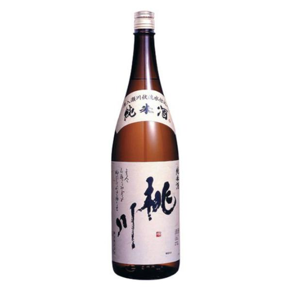 【本州のみ 送料無料】桃川 純米酒 1800ml×1ケース(6本)《006》