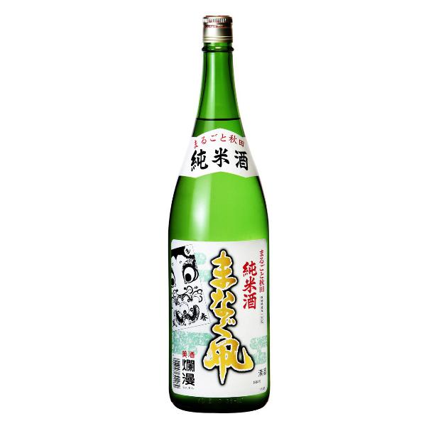 【本州のみ 送料無料】爛漫 まなぐ凧 純米酒 1800ml×1ケース(6本)《006》【家飲み】