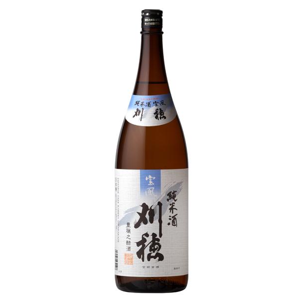 【本州のみ 送料無料】宝風 刈穂 純米酒 1800ml×1ケース(6本)《006》【家飲み】