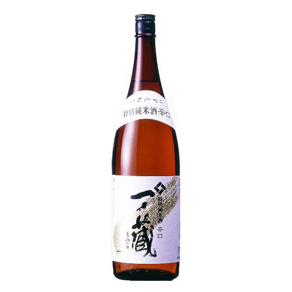 【本州のみ 送料無料】一ノ蔵 特別純米酒 辛口 1800ml×1ケース(6本)《006》【家飲み】