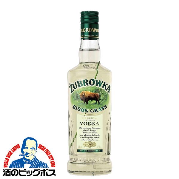 洋酒 ウオッカ vodak ズブロッカ 37.5度 1ケース/500ml×15本【正規品】《015》【家飲み】