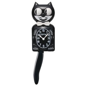 【送料無料】Kit-Cat Klock U.S.A.(ブラック)